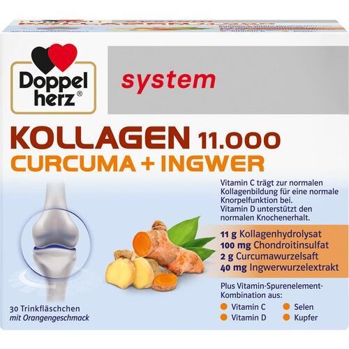 DOPPELHERZ Kollagen 11.000 Curcuma+Ingw.system TRA