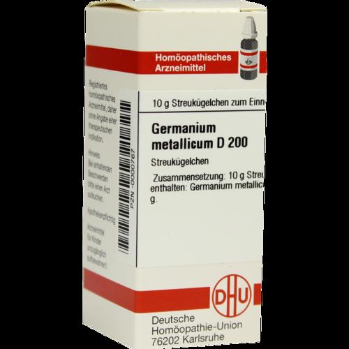 GERMANIUM METALLICUM D 200 Globuli