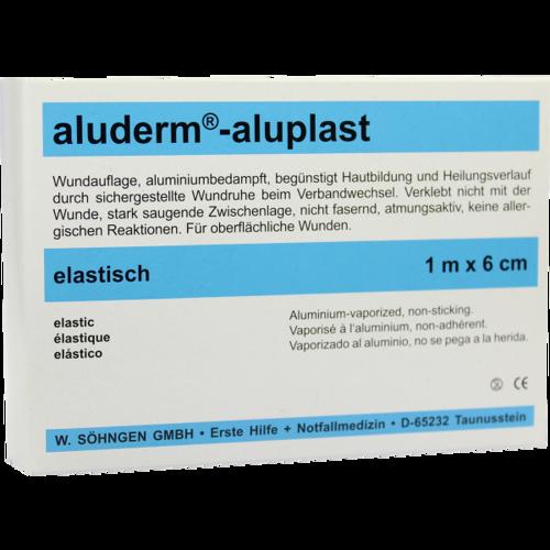 ALUDERM aluplast Wundverb.Pfl.6 cmx1 m stabil