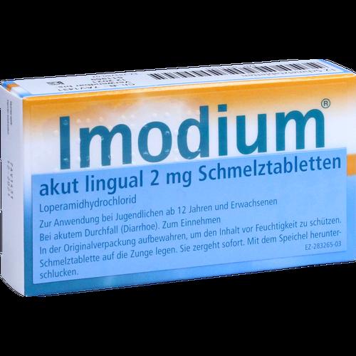 IMODIUM akut lingual Schmelztabletten