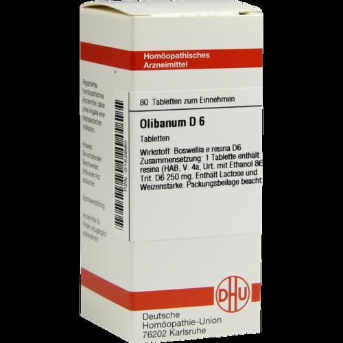 OLIBANUM D 6 Tabletten