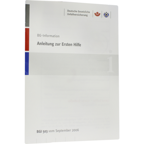ERSTE HILFE ANLEITUNG Broschüre