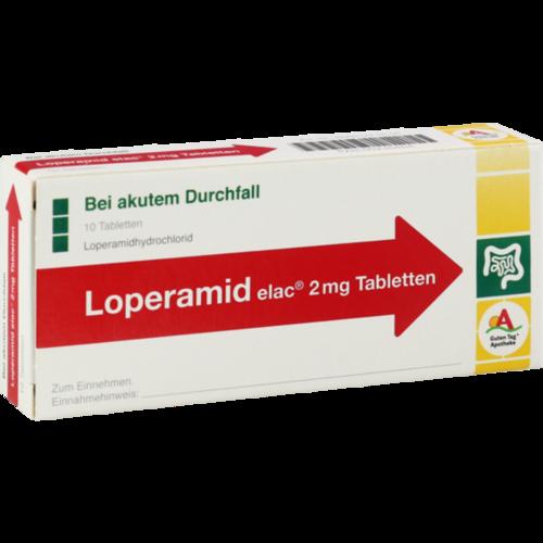 LOPERAMID elac 2 mg Tabletten