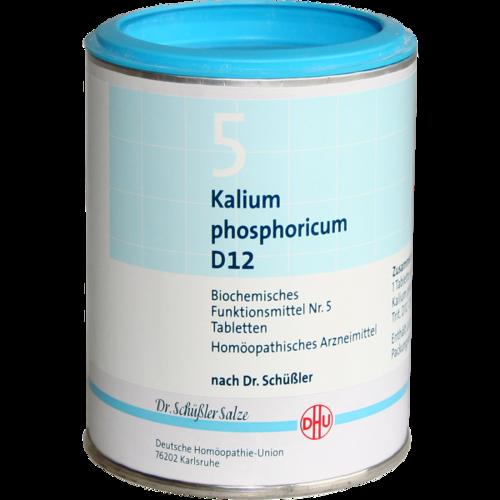 BIOCHEMIE DHU 5 Kalium phosphoricum D 12 Tabletten