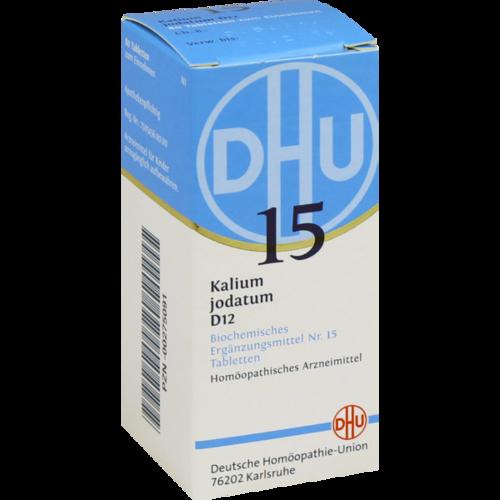 BIOCHEMIE DHU 15 Kalium jodatum D 12 Tabletten