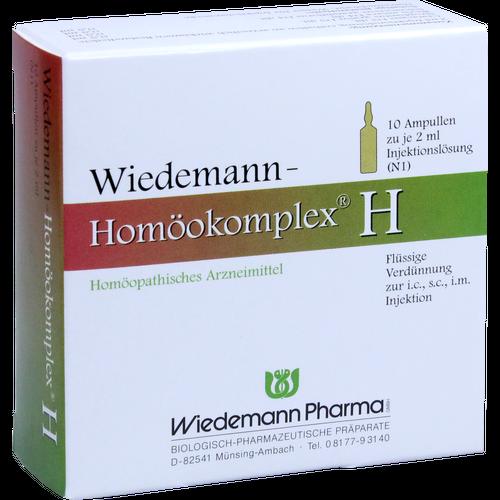 WIEDEMANN Homöokomplex H Ampullen