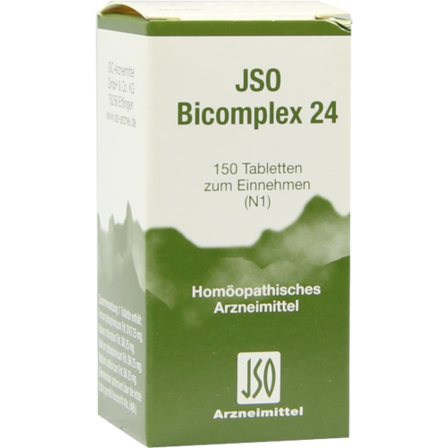 JSO-Bicomplex Heilmittel Nr.24