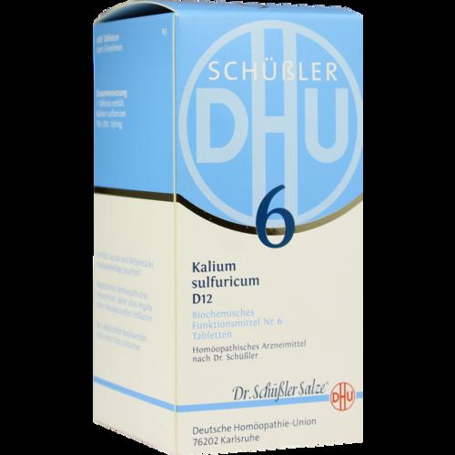 BIOCHEMIE DHU 6 Kalium sulfuricum D 12 Tabletten