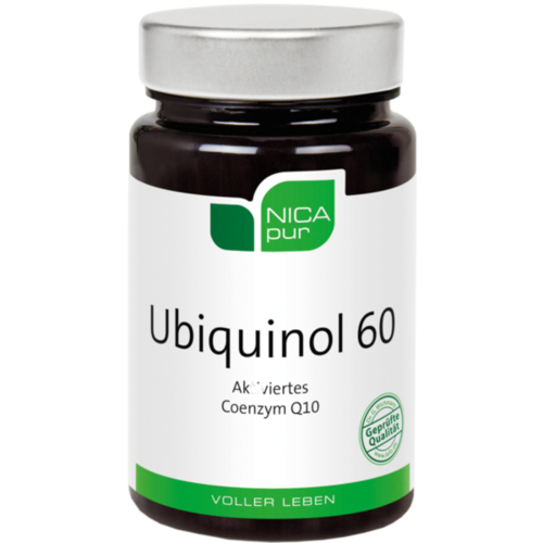 NICAPUR Ubiquinol 60 Kapseln