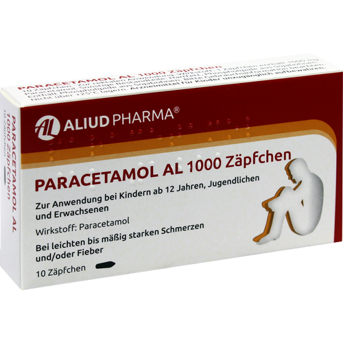 PARACETAMOL AL 1.000 Suppositorien