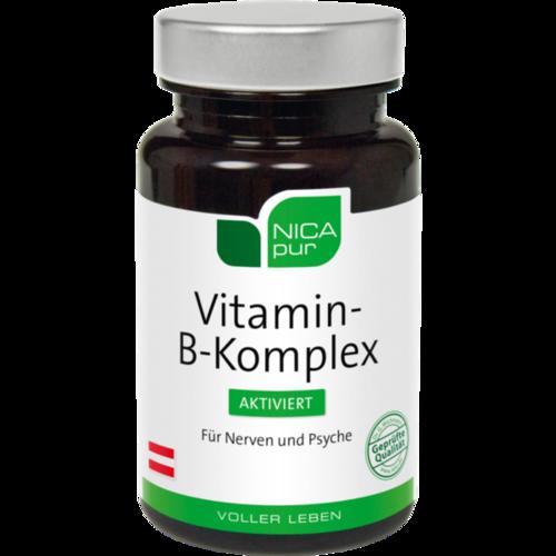 NICAPUR Vitamin B Komplex aktiviert Kapseln