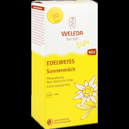 WELEDA Edelweiss Sonnenmilch LSF 30