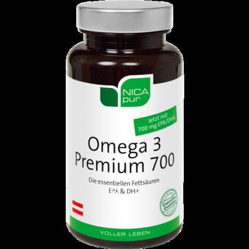 NICAPUR Omega-3 Premium 700 Kapseln