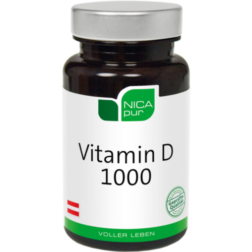 NICAPUR Vitamin D 1000 Kapseln