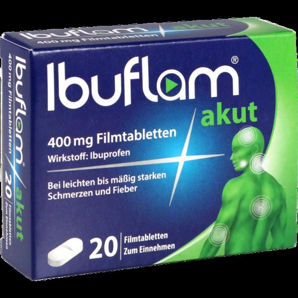 Ibuflam akut 400 Lichtenstein Filmtabletten