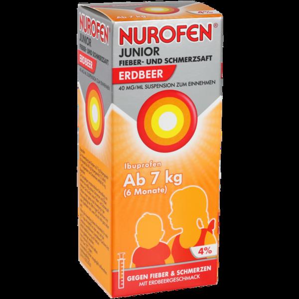 Nurofen Junior F+S Erdbeere 40 Suspension