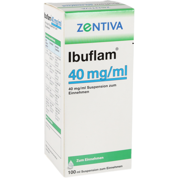 Ibuflam 40mg/ml Suspension