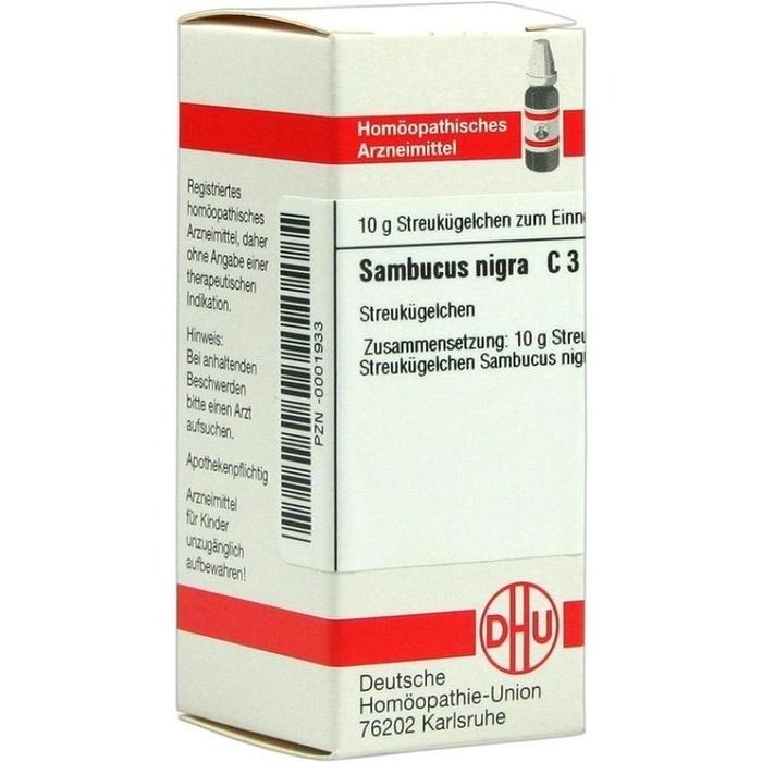 SAMBUCUS NIGRA C 3 Globuli