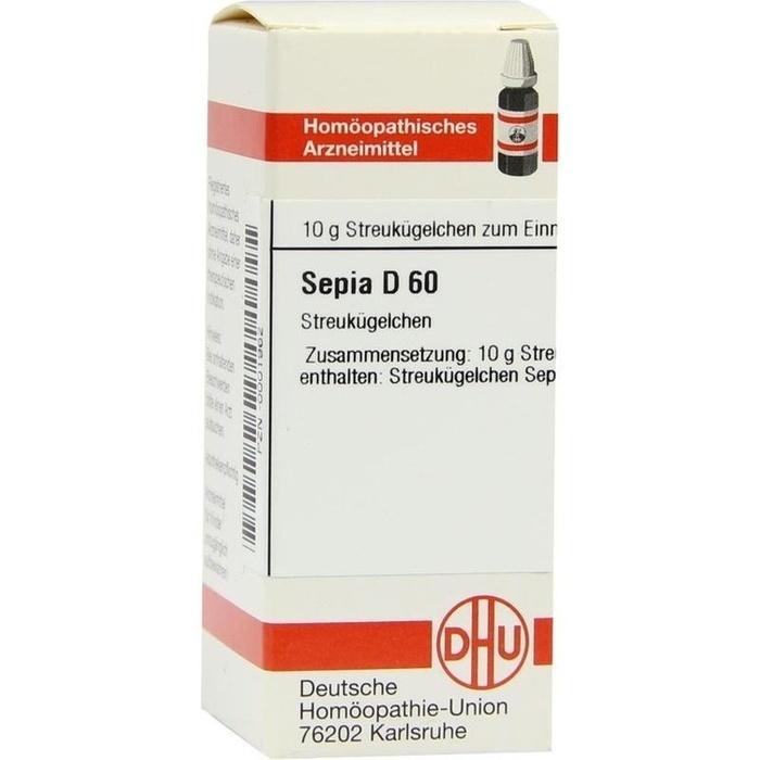 SEPIA D 60 Globuli