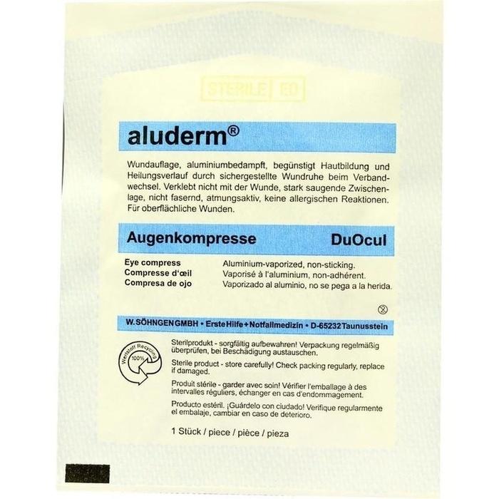 ALUDERM Augenkompressen DuOcul steril