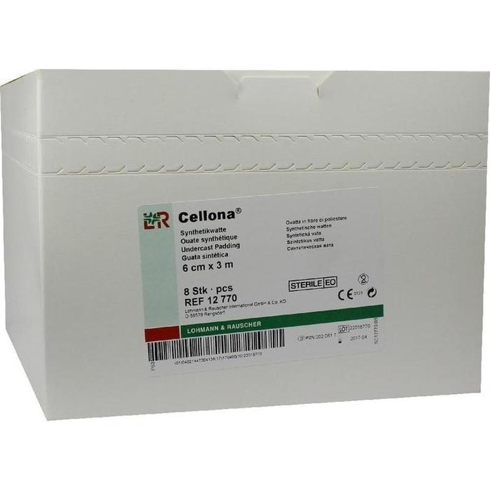 CELLONA Synthetikwatte steril 6 cmx3 m