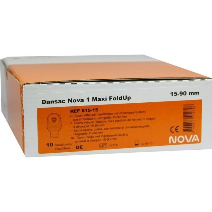 DANSAC Nova 1 FoldUp Ausstr.B.1t.maxi 15-90mm haut