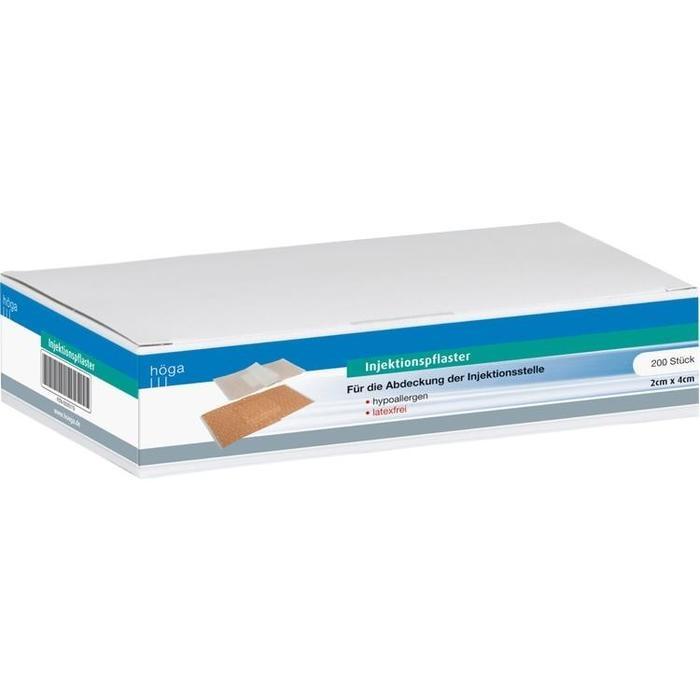 INJEKTIONSPFLASTER hypoallergen 2x4 cm