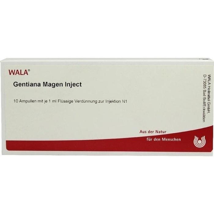 GENTIANA MAGEN Inject Ampullen