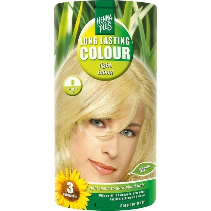 HENNAPLUS Long Lasting light blond 8