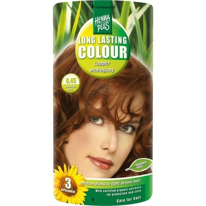 HENNAPLUS Long Lasting copper mahogany 6,45