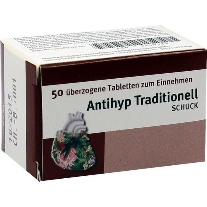 ANTIHYP Traditionell Schuck überzogene Tab.