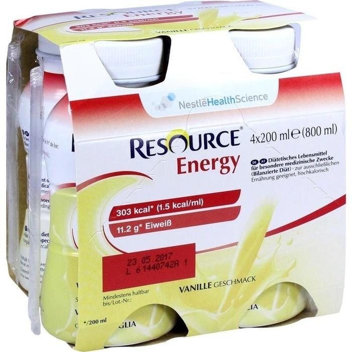 RESOURCE Energy Vanille