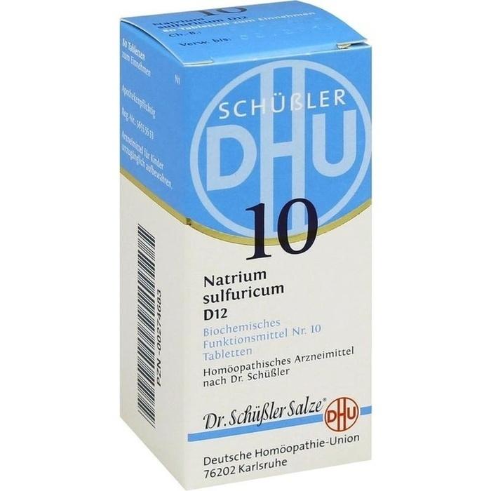 BIOCHEMIE DHU 10 Natrium sulfuricum D 12 Tabletten