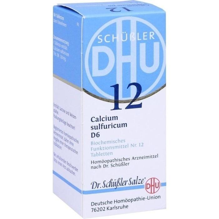 BIOCHEMIE DHU 12 Calcium sulfuricum D 6 Tabletten