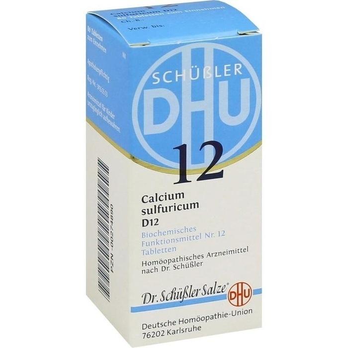 BIOCHEMIE DHU 12 Calcium sulfuricum D 12 Tabletten