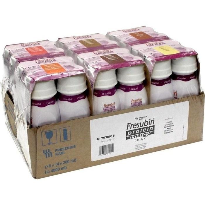 FRESUBIN PROTEIN Energy DRINK Mischkart.Trinkfl.