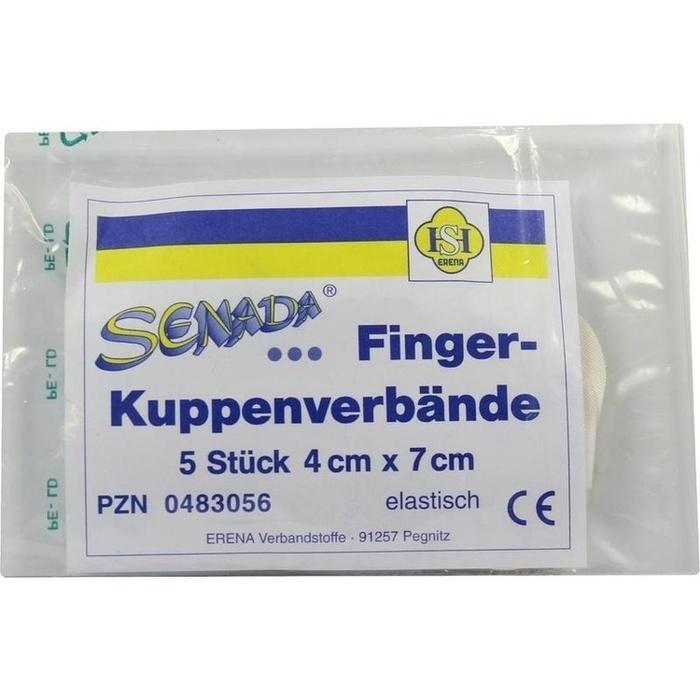 SENADA Fingerkuppenverband 4x7 cm