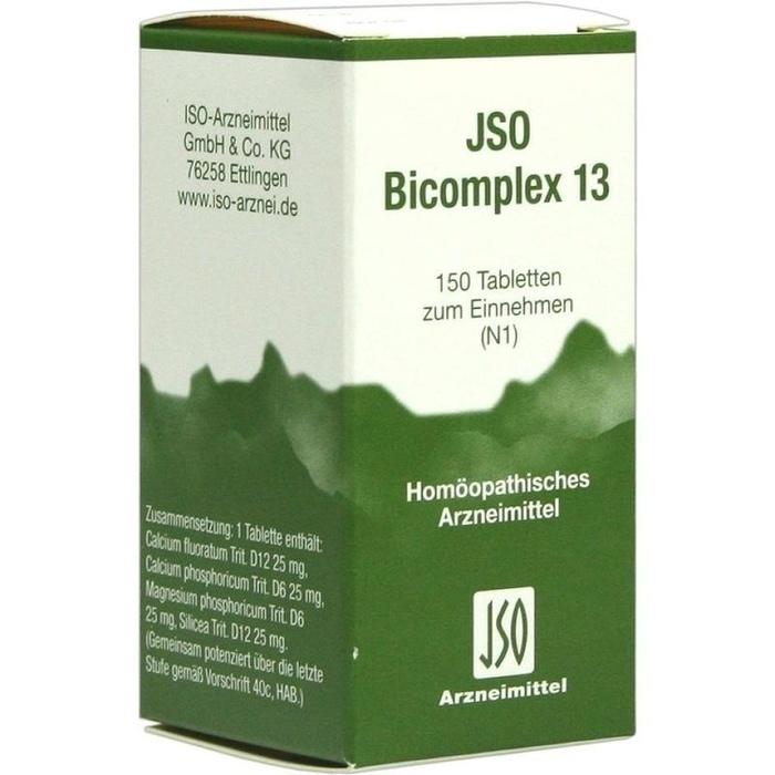 JSO-Bicomplex Heilmittel Nr.13