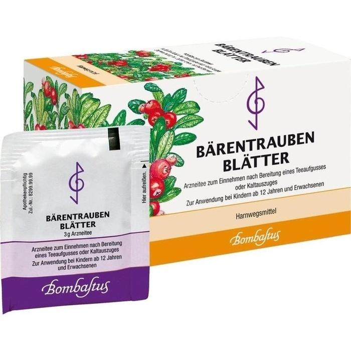 BÄRENTRAUBENBLÄTTER Filterbeutel