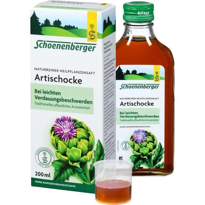 ARTISCHOCKENSAFT Schoenenberger