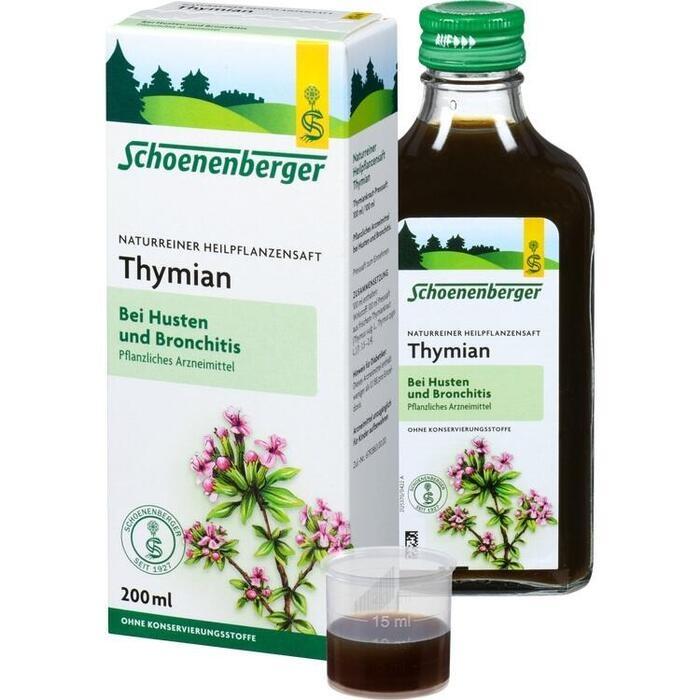 THYMIAN SAFT Schoenenberger