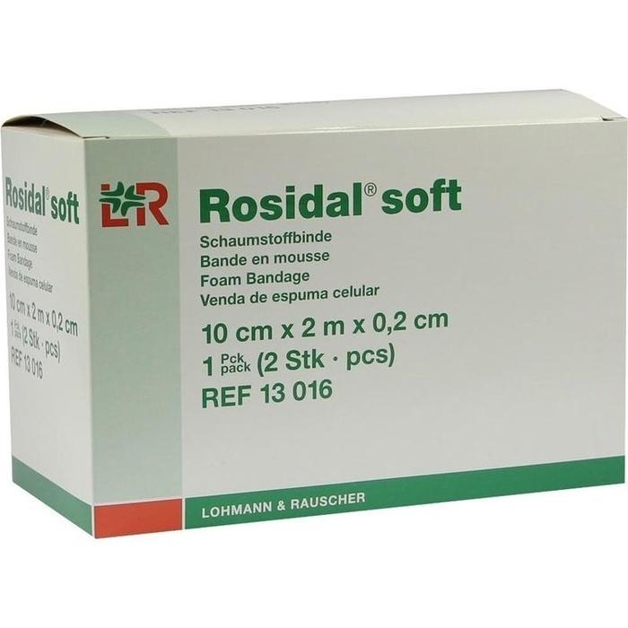 ROSIDAL Soft Binde 10x0,2 cmx2 m
