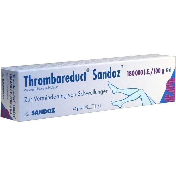 THROMBAREDUCT Sandoz 180.000 I.E. Gel