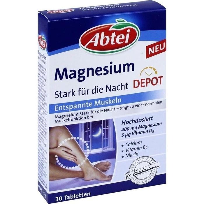 ABTEI Magnesium Stark für die Nacht Depot Tabl.