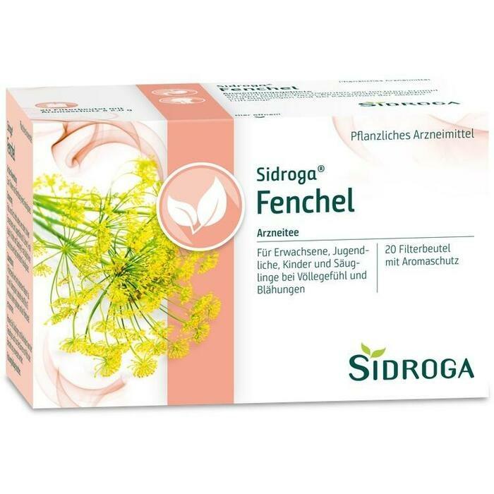 SIDROGA Fenchel Tee Filterbeutel