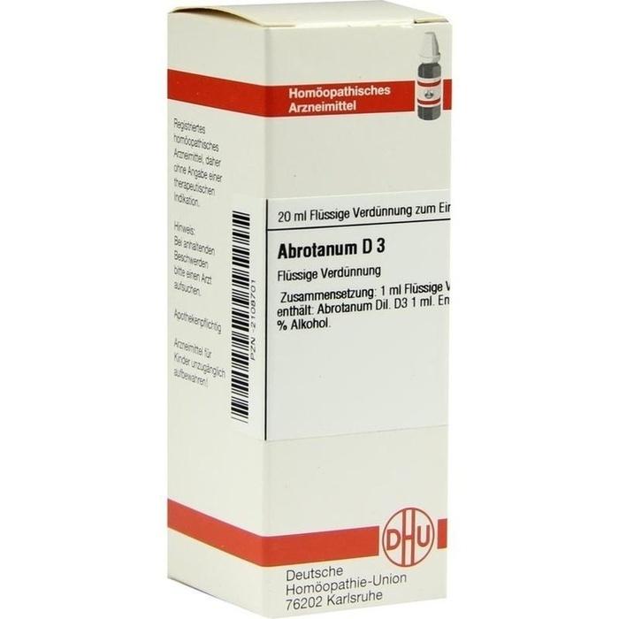 ABROTANUM D 3 Dilution