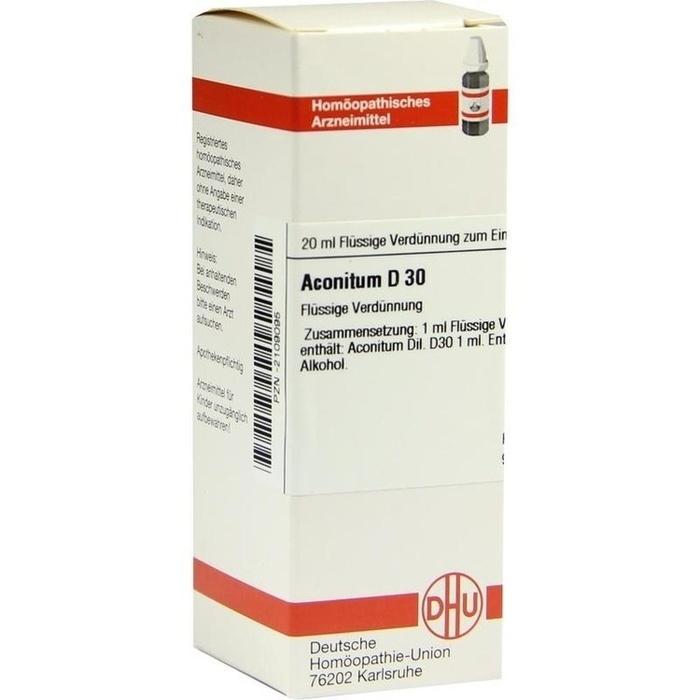 ACONITUM D 30 Dilution