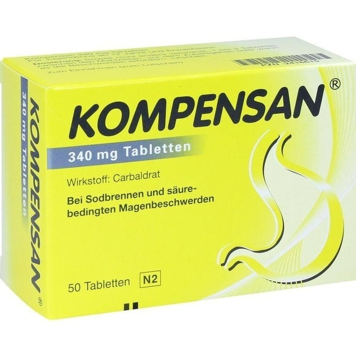 KOMPENSAN Tabletten 340 mg