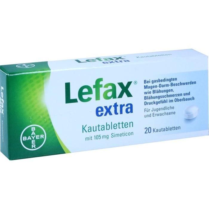LEFAX extra Kautabletten