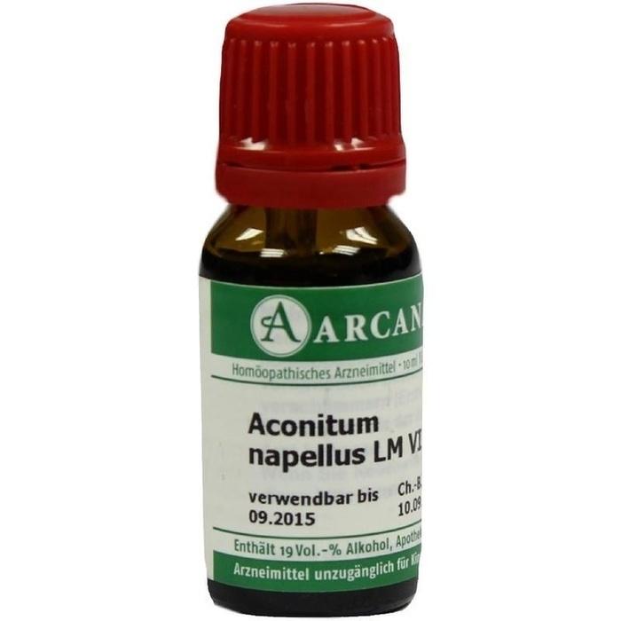 ACONITUM NAPELLUS LM 6 Dilution